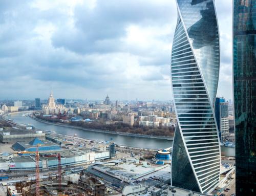 Москва-Сити строится